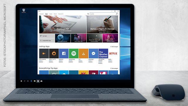 Surface Laptop mit Windows 10 S