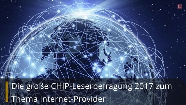 CHIP Leserbefragung Internetprovider 2017
