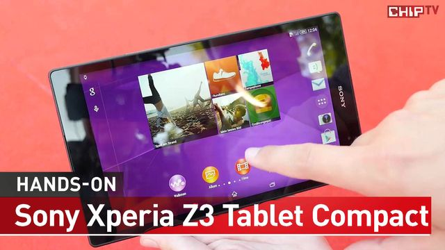Sony Xperia Z3 Tablet Compact - Erster Praxis-Test - IFA 2014