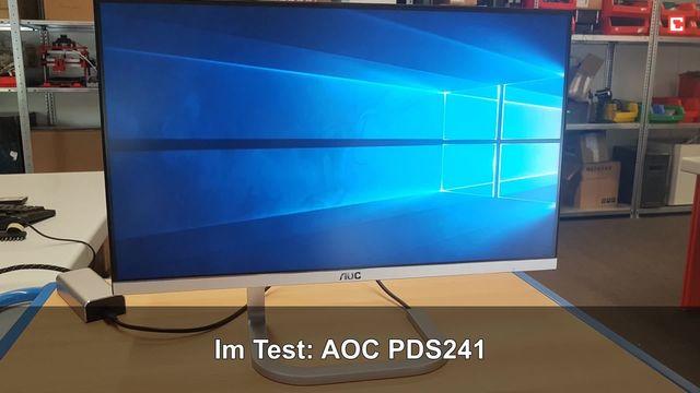 AOC PDS241: Eindrücke aus dem Testlabor