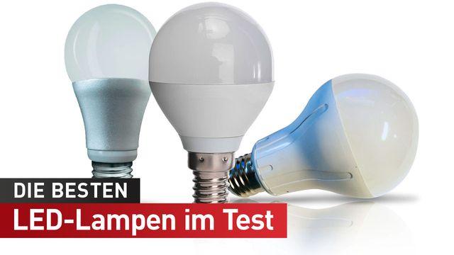 Beste LED-Lampe mit E27-Fassung - Test