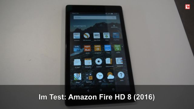 Im Test: Amazon Fire HD 8 (2016)