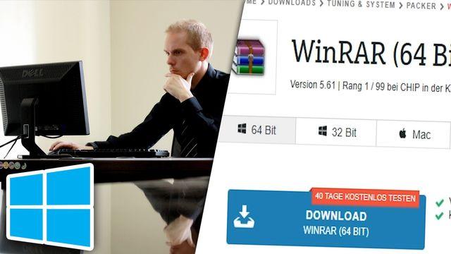 Windows: 32 und 64 Bit herausfinden