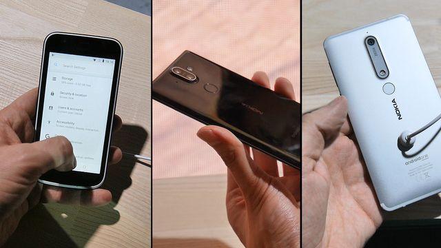 Nokia 8 Sirocco, New Nokia 6, Nokia 7 Plus und 8110 4G im ersten Praxis-Test