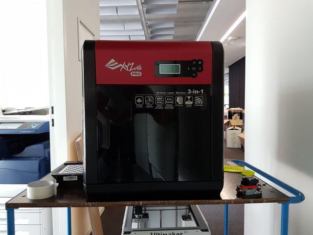 XYZ Printing Da Vinci 1.0 Pro: 3D-Drucker mit Scan- und Laserfunktion