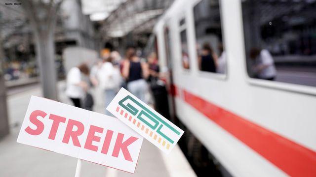 Bahnstreik: Ausfälle, Alternativen und Geld zurück