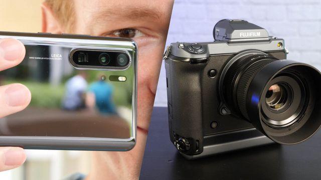 Huawei P30 Pro Vergleichstest mit Profikamera