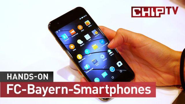 Gigaset ME, ME Pro und ME Pure: Die Smartphones des FC Bayern angetestet