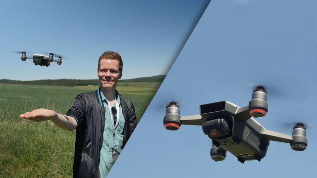 DJI Spark im Test: Wie stark ist die Mini-Drohne mit Gesten-Steuerung?