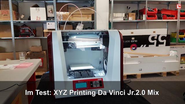 XYZ Printing Da Vinci Jr.2.0 Mix: Eindrücke aus dem Testlabor