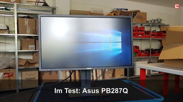 Asus PB287Q: Eindrücke aus dem Testlabor