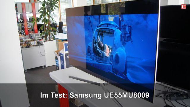 Samsung UE55MU8009: Eindrücke aus dem Testlabor