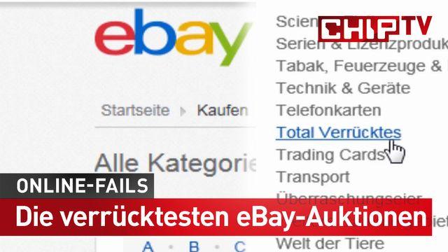 Die verrücktesten eBay-Auktionen - Online-Fails