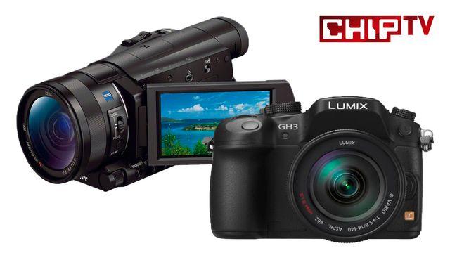 Panasonic Lumix GH4 vs. Sony FDR-AX100E - Vergleichstest