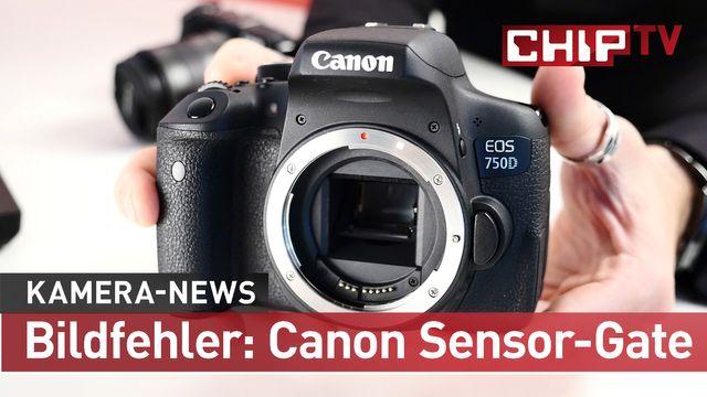 Bildfehler bei Canon EOS 750 D & 760D