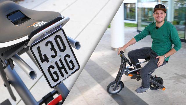 Im Praxistest: E-Scooter Stigo mit Straßenzulassung