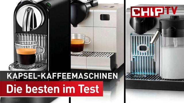 Die beste Kapsel-Kaffeemaschine