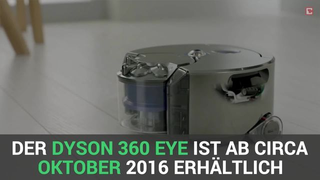 Erster Staubsauger-Roboter von Dyson