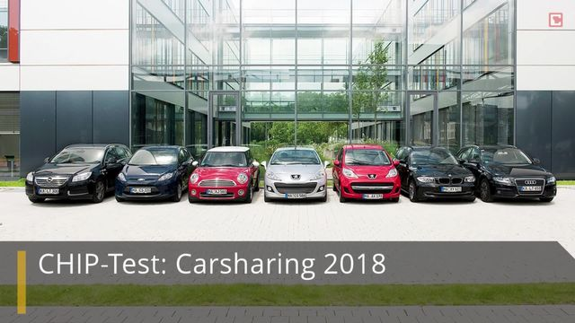 CHIP-Test Carsharing 2018