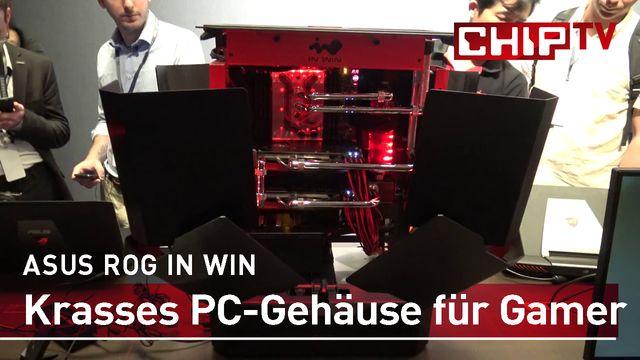 ASUS ROG IN WIN PC-Gehäuse für Gamer - Erster Eindruck