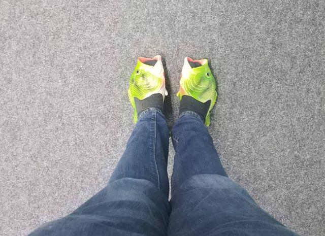Fisch-Schuhe: CHIP checkt den Mode-Trend