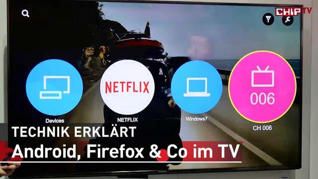 Smart-TV Betriebssysteme - Erster Eindruck