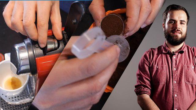 Wiederverwendbare Kaffeekapseln von Mister Barista im Check