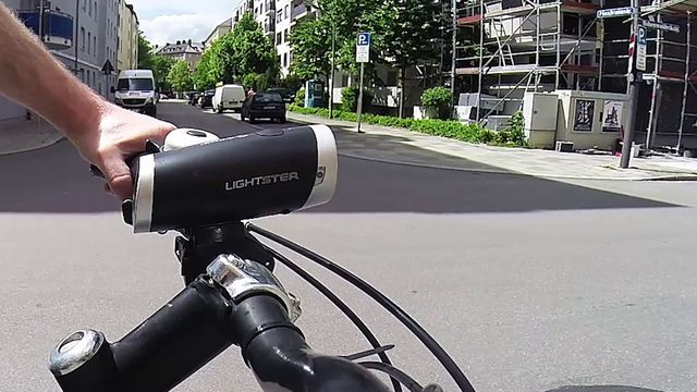 Fahrradbeleuchtung - Test