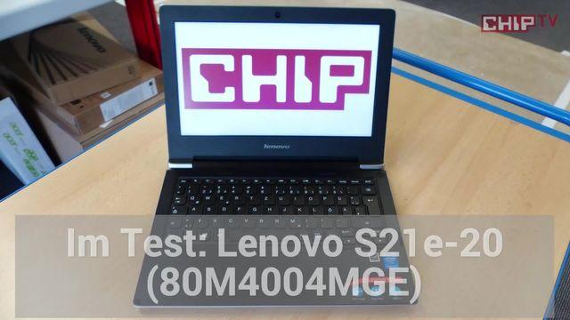 Lenovo S21e-20: Eindrücke aus dem Testlabor
