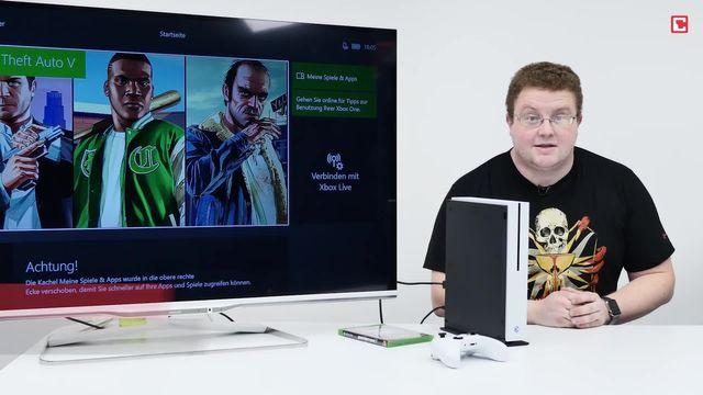 Microsoft Xbox One S im Review