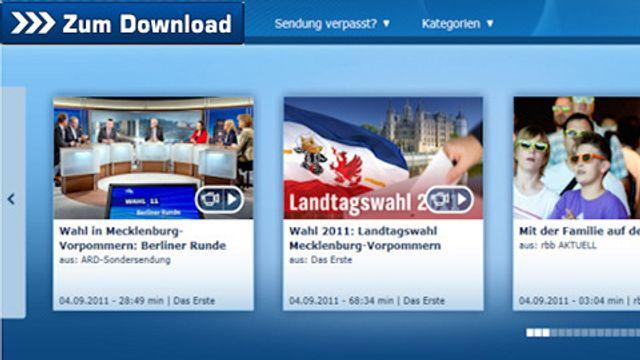 Mediathek Download mit StreamTransport