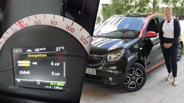 Elektroauto smart EQ forfour im Review
