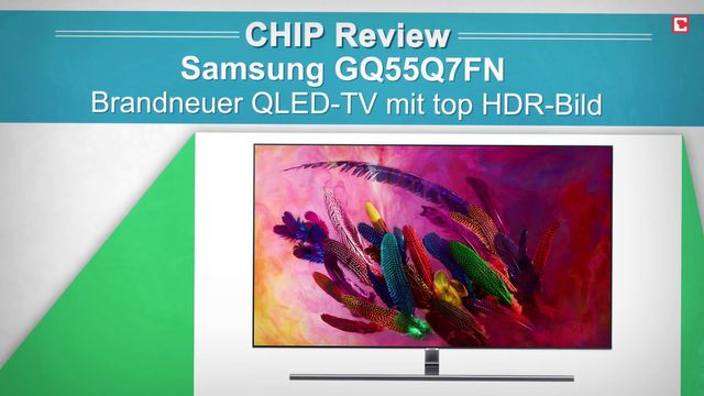 Samsung TV GQ55Q7FN - Review