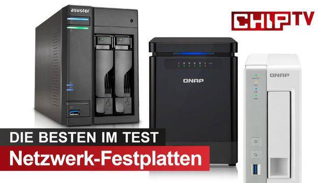 Die 3 Top-Netzwerk-Festplatten: NAS für Speicher-Profis