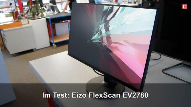 Eizo FlexScan EV2780: Eindrücke aus dem Testlabor