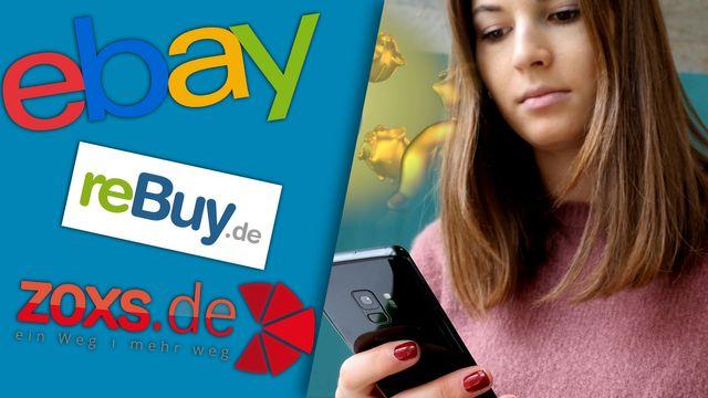Handys bei eBay, Rebuy und Co verkaufen