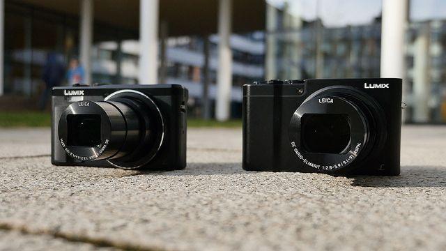 Panasonic TZ81 und TZ101 im Test