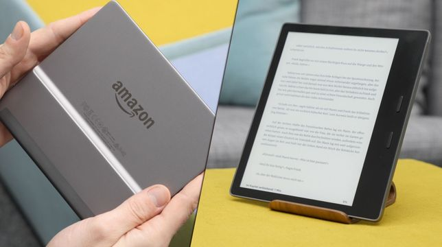 Amazon Kindle Oasis (2017) im Review