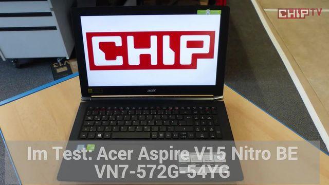Acer Aspire V15 Nitro BE: Eindrücke aus dem Labor