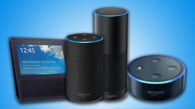 Amazon Echo - alle Modelle im Vergleich