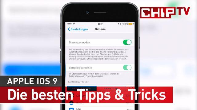 iOS 9 - Die besten Tipps & Tricks
