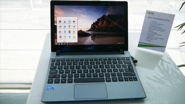 Acer Chromebook C710 - Praxis-Test