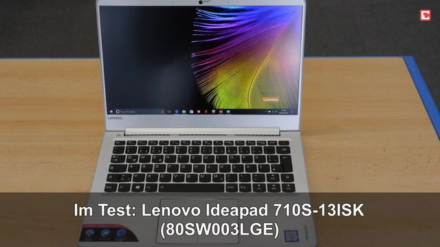Lenovo Ideapad 710S-13ISK (80SW003LGE): Eindrücke aus dem Testlabor