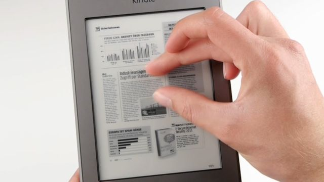 Amazon Kindle Touch - Praxis-Test