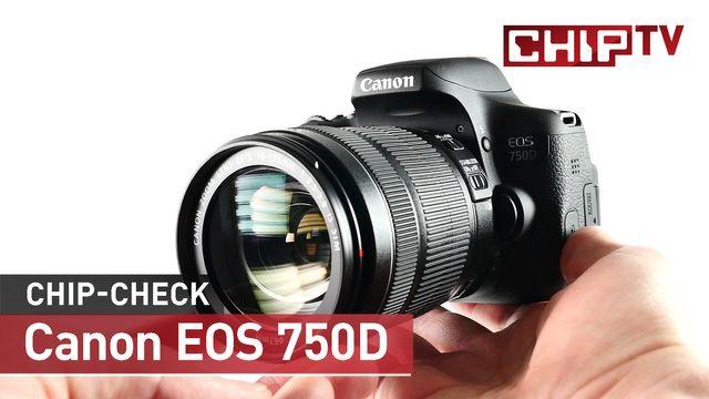 Canon EOS 750D - Review