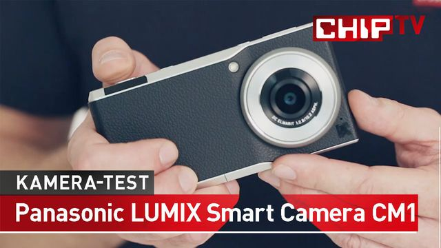 Panasonic Lumix Smart Camera CM1 - Kamera, Smartphone - Praxis-Test