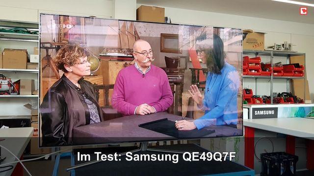 Samsung QE49Q7F: Eindrücke aus dem Testlabor
