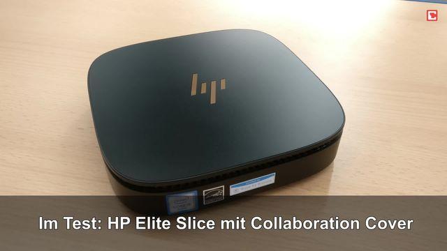 Im Test: HP Elite Slice mit Collaboration Cover (Y4U96EA)