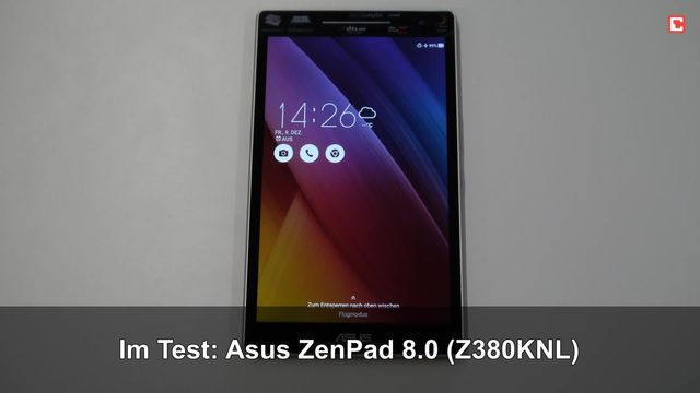 Im Test: Asus ZenPad 8.0 (Z380KNL)
