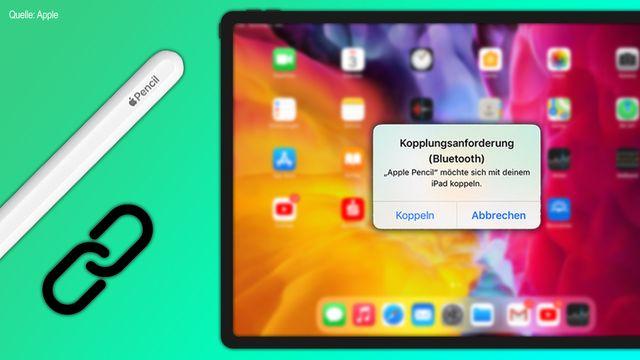 Apple Pencil mit dem iPad verbinden
